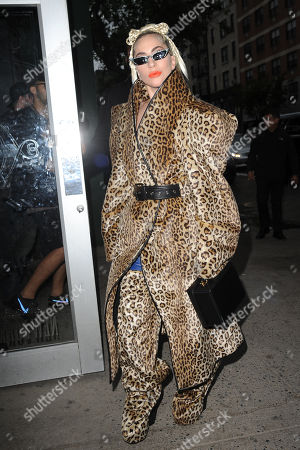 Lady Gaga out and about, New York