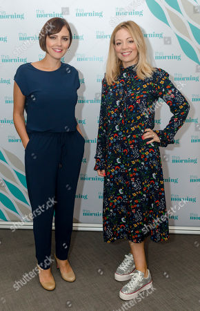 Annabel Scholey and Fiona Button