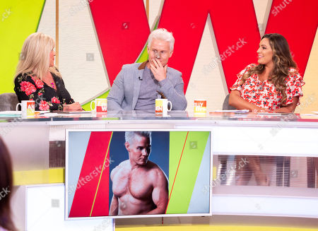 Andrea McLean, Samantha Fox, Rhydian Roberts, Kelly Brook and Jane Moore