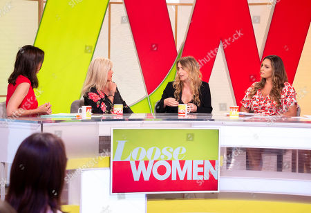 Andrea McLean, Samantha Fox, Emma Atkins, Kelly Brook and Jane Moore
