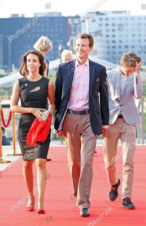 Princess Marie, Prince Joachim, Prince Felix