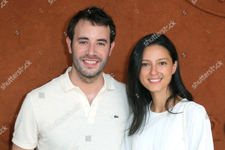 Yaniss Lespert and girlfriend Betina Orsetti