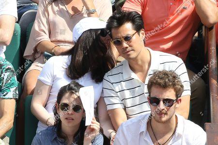 Frederic Chau and girlfriend