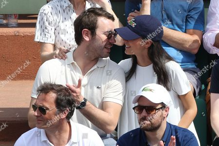 Editorial image of French Open, Celebrities, Stade Roland Garros, Paris, France - 28 May 2018