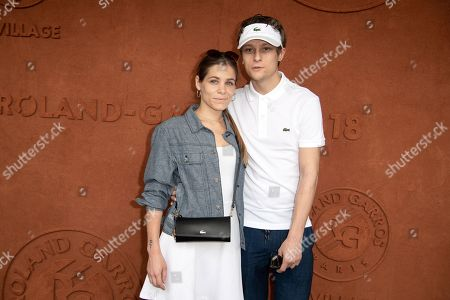 Actor Rod Paradot and Jade Legrand