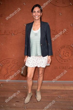 Editorial picture of French Open, Celebrities, Stade Roland Garros, Paris, France - 28 May 2018