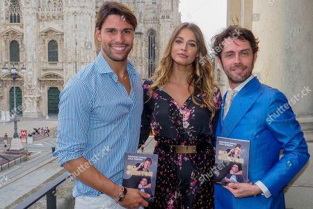 Ivana Mrazova, Luca Onestini, Raffaello Onesto