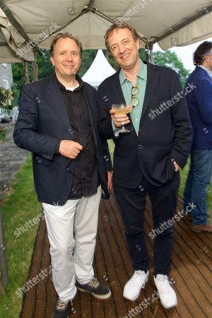 Fred Studeman and Misha Glenny