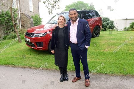 Stock Picture of Daisy Leitch and Amol Rajan