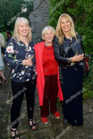 Stock Photo of Gabrielle Walker, Rosie Boycott and Sophie Windham