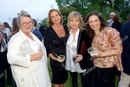 Stock Photo of Josephine Ryan, Caroline Michel, Amanda Levette and Corisande Albert