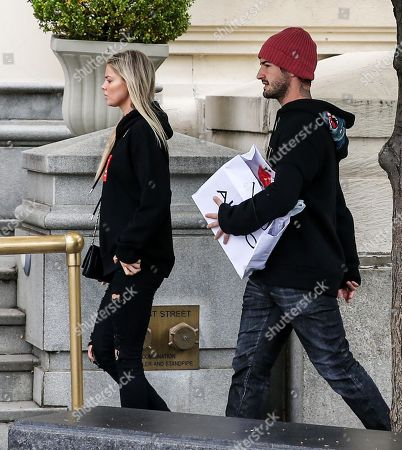 Editorial photo of Pato and Danielle Knudson out and about, New York, USA - 28 May 2018