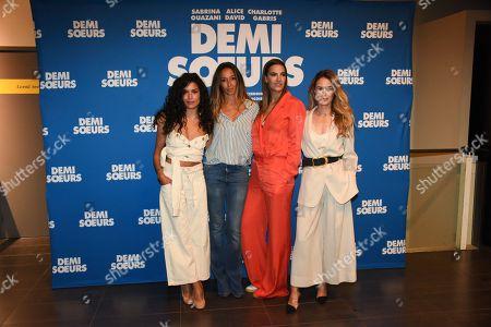 Editorial image of 'Demi Soeurs' film premiere, Paris, France - 28 May 2018