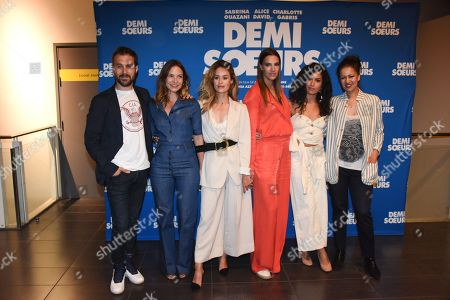 Antoine Gouy, Luana Duchemin, Alice David, Charlotte Gabris, Sabrina Ouazani, Meriem Serbah