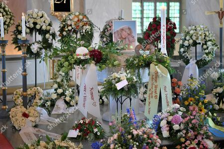 The funeral of Barbro Svensson