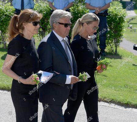 Editorial photo of Funeral of Barbro Svensson, Jarvso, Sweden - 28 May 2018