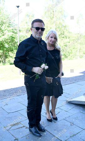 Jan Johansen and Jenny Sandberg
