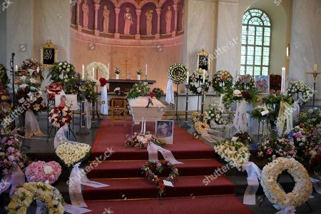 Editorial image of Funeral of Barbro Svensson, Jarvso, Sweden - 28 May 2018