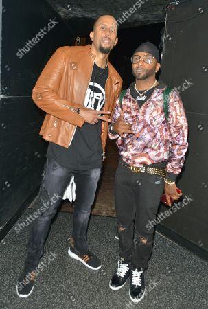 Actor / Comedian Affion Crockett and Shawty Shawty backstage