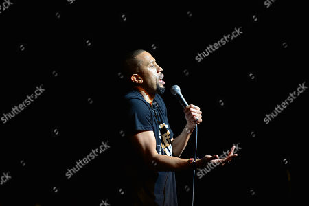 Actor / Comedian Affion Crockett performs onstage