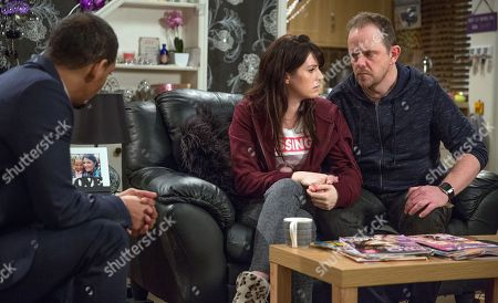 Ep 8176 Thursday 14th June 2018 - 1st Ep Dan Spencer's, as played by Liam Fox, frustrated that DS Benton, as played by Justin Pierre, has no leads on Amelia's whereabouts and he's left in bits when Benton suggests things may be more serious than they thought.