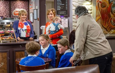 Ep 8176 Thursday 14th June 2018 - 1st Ep Brenda Waker's, as played by Lesley Dunlop, hurt to hear that Cathy and Heath are off to the cinema with Laurel Thomas, as played by Charlotte Bellamy. She covers she's going to a hot yoga class, but Laurel's awkward to sense she's lying.