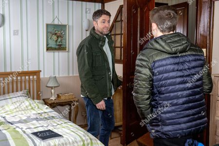 Ep 8170 Thursday 6th June 2018 Whilst Lachlan White, as played by Thomas Atkinson, goes on a mission to retrieve the comic from Terry's, as played by Daniel Casey, room. But will he succeed in finding the incriminating works?