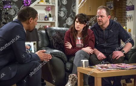 Ep 8176 Thursday 14th June 2018 - 1st Ep Dan Spencer's, as played by Liam Fox, frustrated that DS Benton, as played by Justin Pierre, has no leads on Amelia's whereabouts and he's left in bits when Benton suggests things may be more serious than they thought. With Kerry Wyatt, as played by Laura Norton.