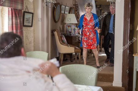 Ep 8169 Wednesday 6th June 2018 Doug Potts, as played by Duncan Preston, spots Terry, as played by Daniel Casey, sleeping in his car and offers him a free room at the B&B. Diane Sugden, as played by Elizabeth Estensen, and Pollard, as played by Chris Chittell, are shocked but Doug assures them Terry can be trusted.