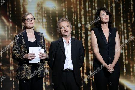Isabelle Carre, Dominique Pinon and Zabou Breitman