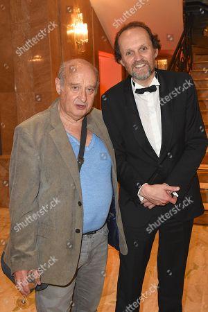 Stock Image of Michel Jonasz and Jean Marc Dumontel.