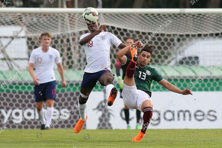 Editorial image of Mexico Under-21 v England Under-21, Tournoi Maurice Revello, Football, Stade d'Honneur Marcel Roustan, Salon-de-Provence, Bouches-du-Rhone, France - 29 May 2018
