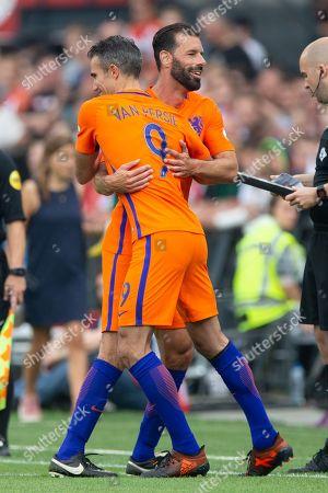 Robin van Persie of Holland, Ruud van Nistelrooy of Holland