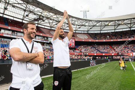 Rafael van der Vaart of Holland, Ruud van Nistelrooy of Holland