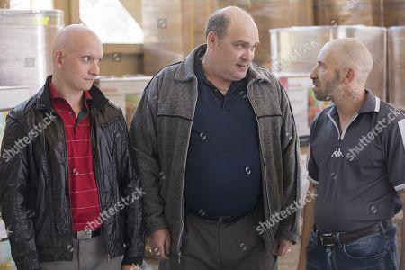 Anthony Carrigan, Glenn Fleshler, Mark Ivanir
