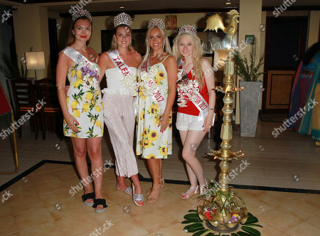 Rachel Pitman Miss Hertfordshire 2017, Jodie Duckworth Miss Nuneaton 2017, Jennifer Atkin Miss Yorkshire 2017, Samantha Bumford Miss Dorset 2017 visiting Ratnaloka Tour Inns and nearby nearby gem mine