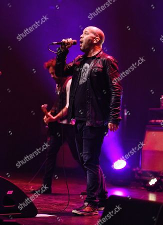 Editorial picture of Finger Eleven in concert, Hamilton, Canada - 18 May 2018
