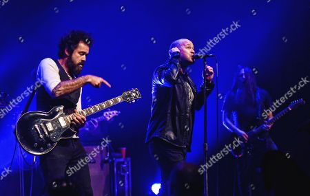 Stock Photo of Finger Eleven - James Black and Scott Anderson