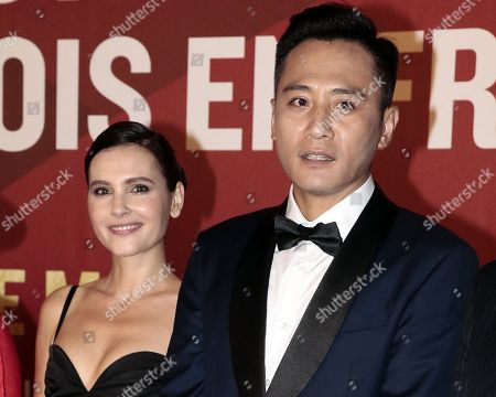 Virginie Ledoyen with chineses actor Liu Ye