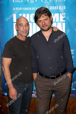 Actor Jean-Marc Barr and Film Director Lefertis Charitos