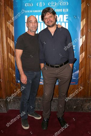 Editorial image of 'Dolphin Man' film premiere, Paris, France - 28 May 2018