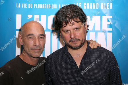 Editorial photo of 'Dolphin Man' film premiere, Paris, France - 28 May 2018