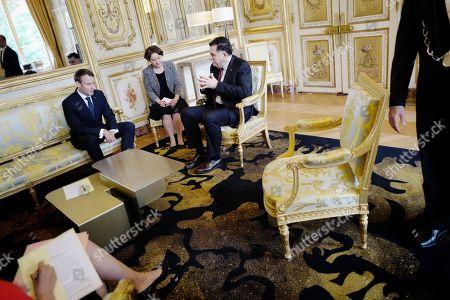 Emmanuel Macron, Fayez al-Sarraj