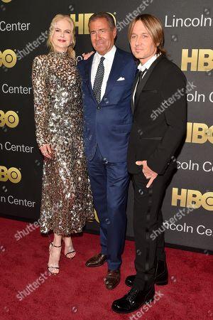 Nicole Kidman, Richard Plepler and Keith Urban