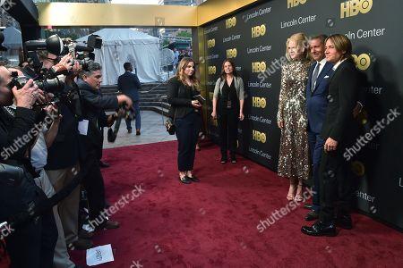 Stock Image of Nicole Kidman, Richard Plepler and Keith Urban