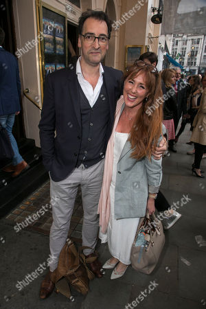 Stock Image of Alistair McGowan and Charlotte Page