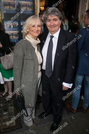 Kara Wilson and Tom Conti