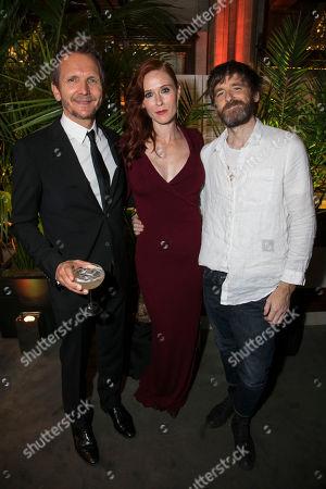 Sebastian Roche (Orgon), Audrey Fleurot (Elmire) and Paul Anderson (Tartuffe)