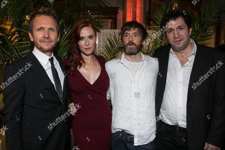 Sebastian Roche (Orgon), Audrey Fleurot (Elmire), Paul Anderson (Tartuffe) and Gerald Garutti (Director)