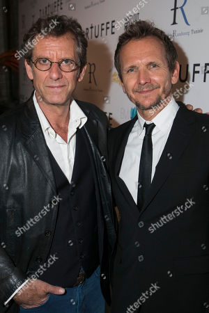 Vincent Winterhalter (Cleante) and Sebastian Roche (Orgon)